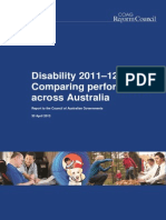 Disability 2011 12