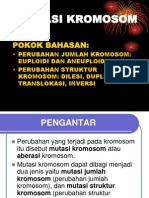 Mutasi Kromosom