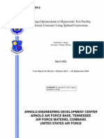 Design of Axis symmetric nozzle