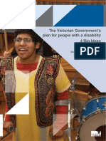 The Victorian Government's Plan for People With a Disability - 4 Big Ideas