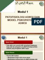 Modul 1 - Patofisiologi Adiksi Dan Model Psikopatologi Adiksi