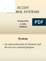 Ec2255 Control Systems PPT