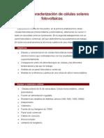 caracterizacion fotovoltaica