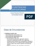 CIRCUNSTANCIAS MODIFICATORIAS