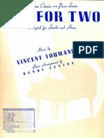 Youmans, Vincent (Arr Henry Levine) - Tea for Two.pdf