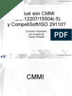 Conferencia sobre CMMI, ISO 12207/ISO 15504 y COMPETISOFT /ISO 29110