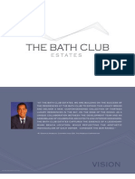 The Bath Club Estates Miami Beach condos brochure