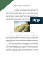 Geothermal Dan Persiapan Eksplorasinya