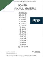 TCM 470 Manual