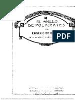 El Anillo de Policrates - Eugenio de Castro