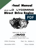 Lycoming.DirectDriveOverhaul