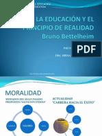 LA EDUCACIÓN Y  EL PRINCIPIO DE REALIDAD