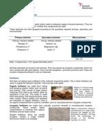 RSC Nutrients and Fertilisers