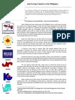 JFC Statement on Clean Air Act Amendments