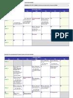 Summer Semester 2013-2014 MON1800 - Course Timetable