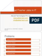 How to Get an IT Job as a Fresher
