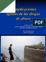 24.06.11Complicaciones Agudas de Las Drogas de Abuso-Dra.alejandraLevy