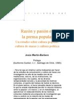 Razón y pasión en la prensa popular (Prólogo)