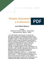 Miradas latinomericanas a la televisión (Prólogo)