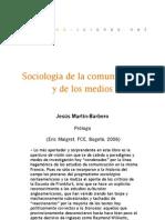 Sociología de la comunicación y de los medios (Prólogo)