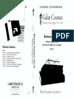 (TTC) Geis - Business Statistics II
