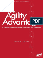 Agility Advantage Book David S Albert