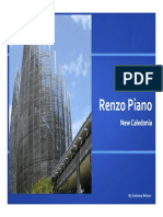 Renzo Piano Cultural Center