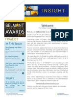 Cathara Consulting INSIGHT December 2013 Issue 3