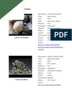 Deskrisi Mineral Silikat