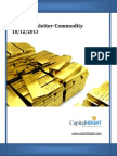 Today Gold,Silver Commodity Market News Update & Trend 18-12-2013
