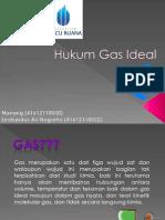 KimiaIndustri_Hukum Gas Ideal