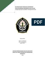 Laporan Praktikum TI Aplikasi ArcGIS (Peta Kabupaten Kulon Progo)
