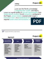 Project Sample Presentation