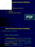 Basin Petroleum Systems Modeling