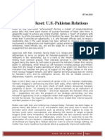 The Next Reset U.S.-pakistan Relations