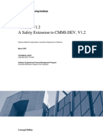 A Safety Extension to CMMI-DeV V1.2