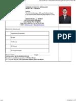 Biodata PPDS Universitas Sebelas Maret Surakarta