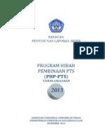 Panduan Laporan Akhir Php-pts 2013