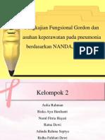 Pengkajian Fungsional Gordon Dan Asuhan Keperawatan Pada Pneumonia