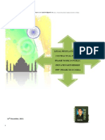 Legal Regulatory and Contractual Policy Frame Work in Public Private Partnership 'PPP' Infrastructure Projects in India.