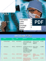 Laporan Poli 27-4-13 Ortho