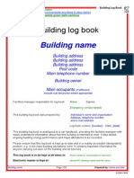 85889324 Building Log Book Template