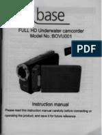 base full hd underwater camcorder model BOVU001