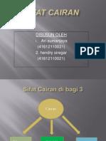 Tugas Presentasi Tentang Sifat Cairan