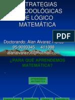 Estrategias Metodológicas LOGICO MATEMATICA ALan UGEL AN