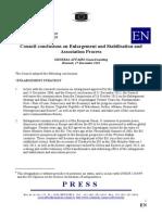 Dokumenti i BE për Statusin e Shqipërisë