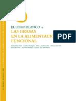 Grasas en La Alimentacion Funcional Libro Blanco Instituto Flora