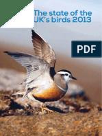 RSPB state of birds UK report