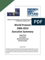 World Protests 2006-2013 Executive Summary
