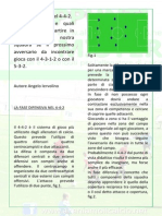 Fase Difensiva 442 Contro 4312 e 352